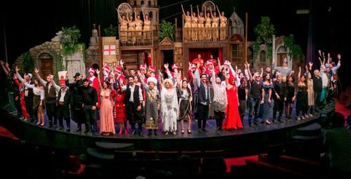 Pera Müzikali provası özel davetlilerden büyük ilgi gördü!