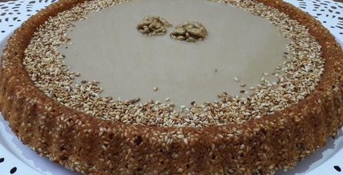 Kokusu evinizi saracak: Tahinli kek