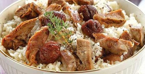 Leziz mi leziz: Kestaneli hindi büryan tarifi!