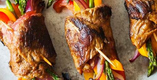 Et severler buraya: Fırında bonfile sarma