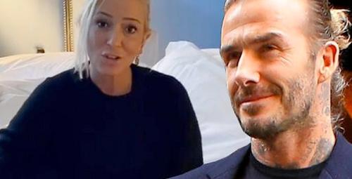 Sosyal medyayı sallayan video! Saba Tümer Beckham'ın yatağında!