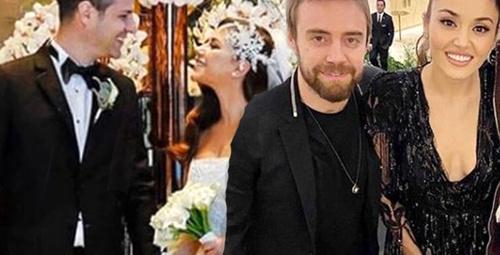 Hande ve Murat'tan bir ilk! Ünlü çiftin düğününde kurtlarını döktüler!