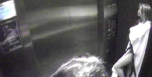 İşte Elon Muck ve ünlü oyuncunun asansörde uygunsuz görüntüleri!