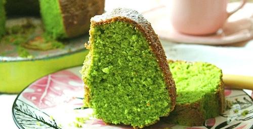Yeşilin en keyifli hali: Ispanaklı kek