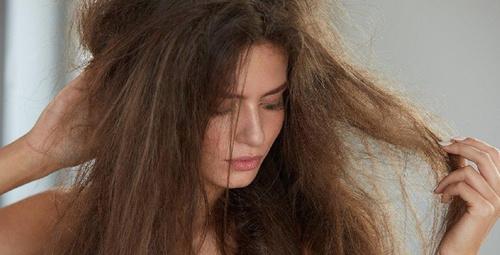 Kuru saçlarınızı capcanlı yapacak maske tarifi!