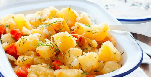 Zeytinyağlıların en güzeli: Patates pilaki