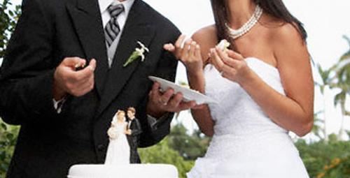 Düğün pastalarında son moda