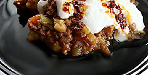 Akşam menüsü: Közlenmiş Patlıcan Tava