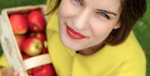 Elma sağlığa yarar, dişlere zarar!