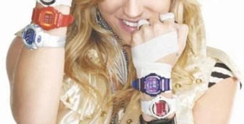 Kesha Baby-G için muhteşem saatler tasarladı!