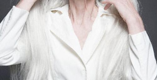 Beyaz saç tarih oluyor!