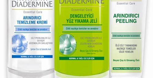 Diadermine ile dermatolojik temizlik