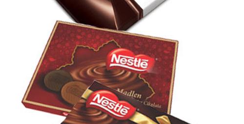 Bayram çikolatası Nestlé'den