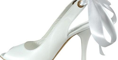 İnci'den yaz gelinleri için ayakkabılar