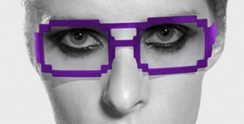 Eğlenceli trend: Piksel gözlükler!