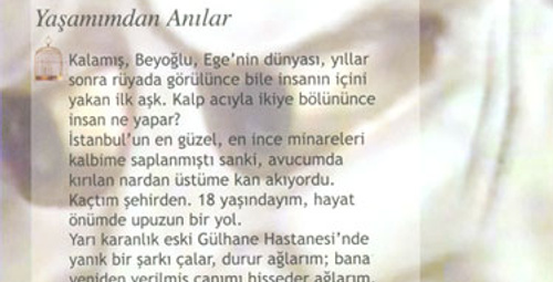 Çırağan'da ayın yazarı: Nazlı Eray