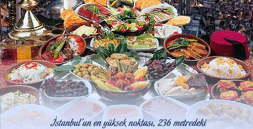 İstanbul'un zirvesinde Ramazan keyfi