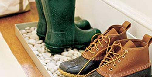 Islak ve kirli ayakkabıları ne yapmalı?