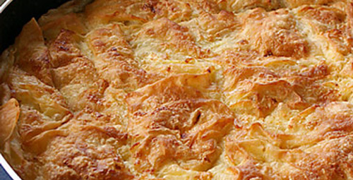 Günün lezzeti: Sodalı Börek