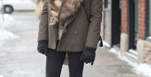 Mükemmel bir palto seçimi!