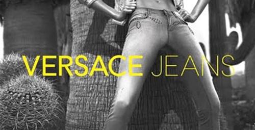 Gisele, Versace için soyundu