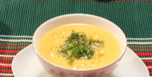 Sıcacık lezzet: Dereotlu Havuç Çorbası