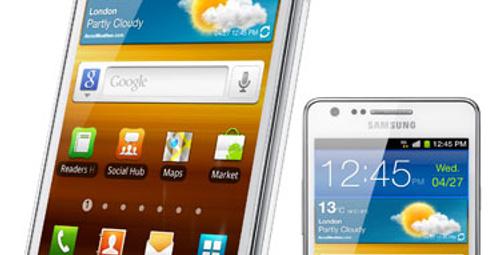 Samsung Galaxy SII 20 milyon satı!