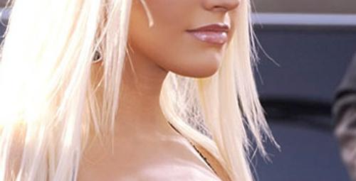 Aguilera, patatesle bronzlaşıyor!