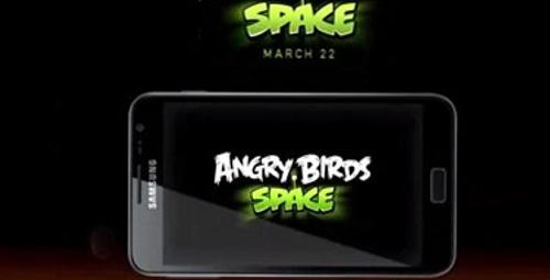 Angry Birds uzaya gidiyor!