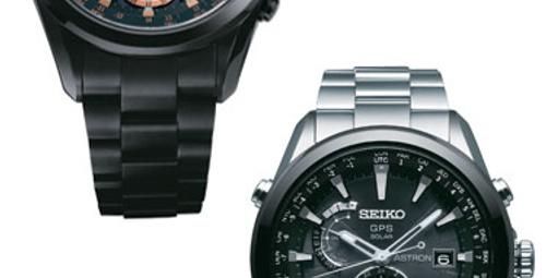 Seiko Astron'dan dünyanın ilk GPS solar saati!
