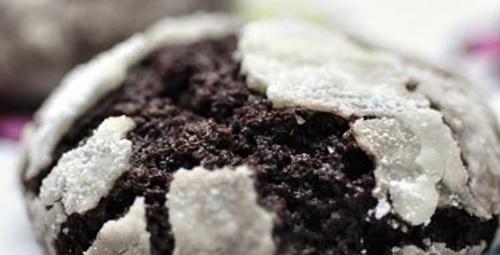 Çılgın lezzet: Kakaolu Çatlak Kurabiye