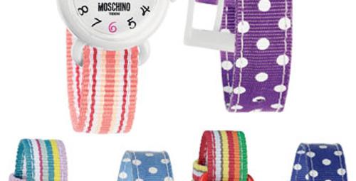 Moschino'dan çocuklara özel saatler