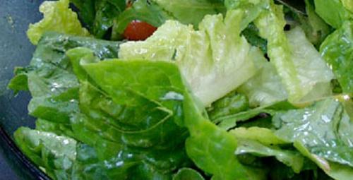Pazar keyfi: Bahar Salatası