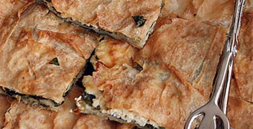 Pazar lezzeti: Ispanaklı Peynirli Börek