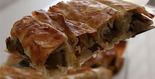 Pazar keyfi: Mantarlı ve Patatesli Börek