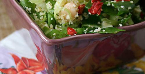Pazar keyfi: Pazılı Bulgur Salatası