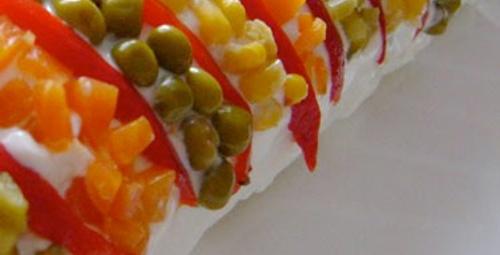 Misafirleriniz için: Rulo Patates Salatası