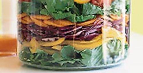 Gözlere ziyafet: Gökkuşağı Salatası