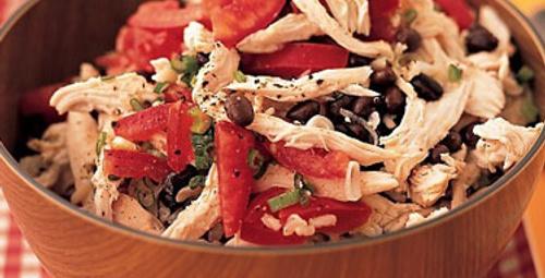 Günün tarifi: Tavuklu Pirinç Salatası