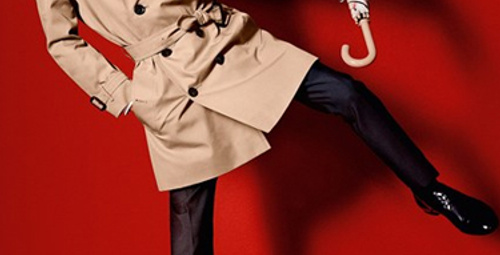 Burberry'nin yeni reklam yüzü: Romeo Beckham