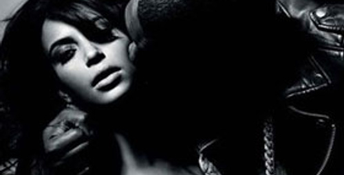 Kim Kardashian ve Kanye West'den çok özel pozlar!