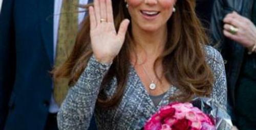 Kate Middleton ağzından kaçırdı!