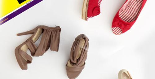 Bir ayakkabı alana ikincisi hediye!