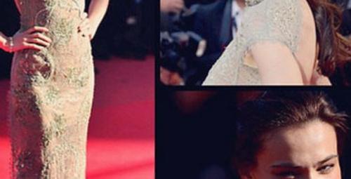 Işıl Aksoy 'Cannes' kırmızı halısını salladı!