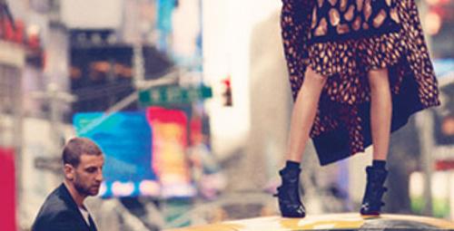 Cara Delevingne ve DKNY Fall 2013