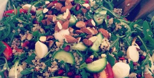 Roka salatası tarifi !