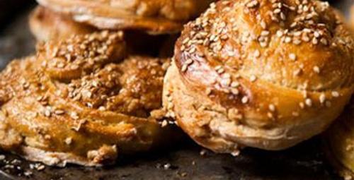 Harika lezzet: Tahinli Çörek