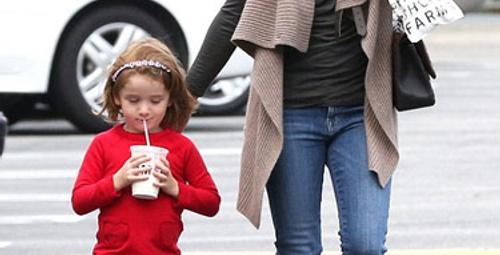 Alyson Hannigan : En havalı anne!