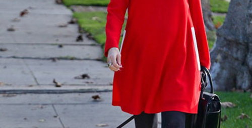 Gwen Stefani'nin hamile stili!