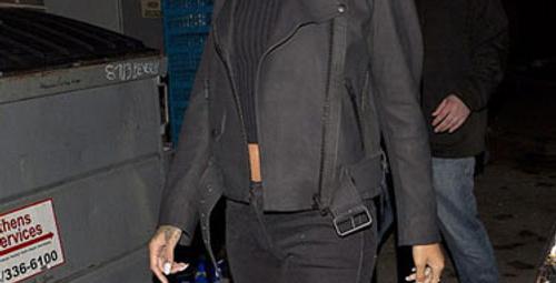 Rihanna yeni sevgilisi ve yeni saçlarıyla...